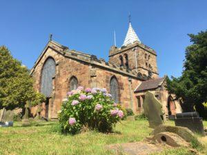 St. Deiniol's Church, Hawarden, Wales